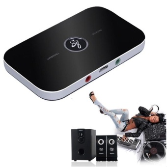 Wireless Bluetooth 2-in-1 Audio Music A2DP Receiver Transmitter Adapter - intl