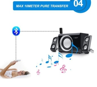 Wireless Bluetooth 2-in-1 Audio Music A2DP Receiver Transmitter Adapter - intl - 5