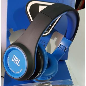 Wireless Bluetooth FM/MP3 Stereo headphones BLUE