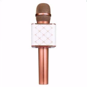 Wireless Bluetooth Handheld Microphone & HiFi Speaker Karaoke KTV Q7 - 3