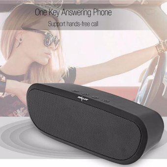 Wireless Bluetooth Subwoofer Speaker Double Horn Stereo Music Player Support TF Card USB 12h Music Play Black - intl - 5