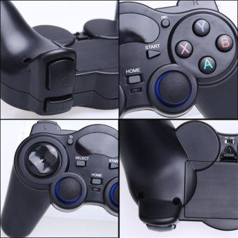Wireless Game Controller Game Pad Joystick for Android TV Box Tablets PC 2.4G - intl - 4