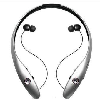 Wireless In-Ear Bluetooth 4.0 Headphone (Silver)