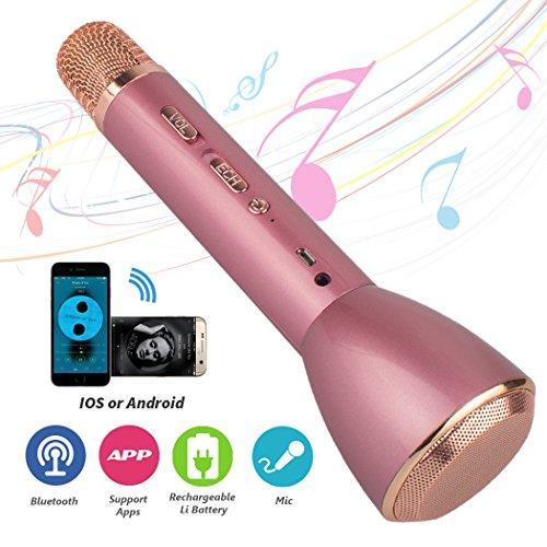 Philippines | Wireless Karaoke Microphones- Platinum Portable 3-In-1