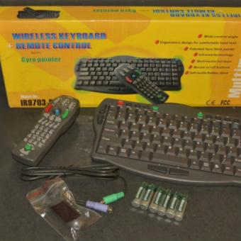 Wireless Keyboard + Remote Control with Gyro pointer Price Philippines