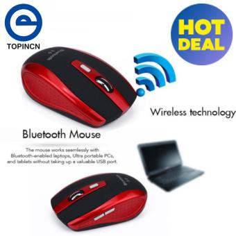 Wireless Smart Bluetooth Mouse Gaming Mouse For PC Laptop Red -intl Price Philippines