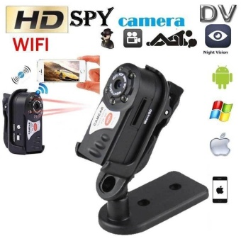 Wireless WIFI Spy Hidden Camera Mini P2P DV Video Recorder DVR Night Vision Q7 - intl