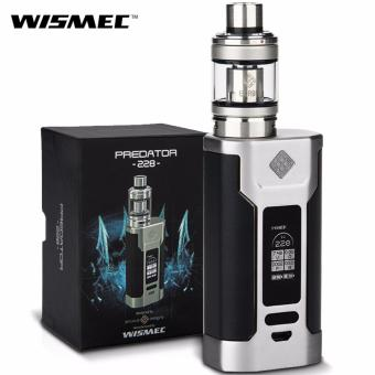 Wismec Predator 228W Variable Temperature Control Electronic Cigarette Kit (Silver/Black)