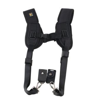 WOND Double Dual Shoulder Neck Strap Sling Belt For Digital SLR DSLR Camera