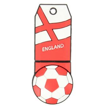 World Cup Football Model Flash Memory Stick Storage 8GB USB 2.0 Thumb Pen Drive England (Multicolor)
