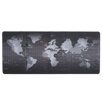 World Map Speed Game Mouse Pad Mat Laptop Gaming Mousepad