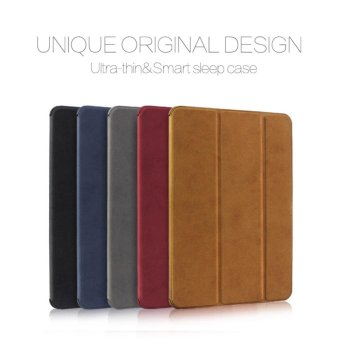 WOWZ Folding PU Leather Flip Case For 7.9in Xiaomi Mipad 2/Mipad 3 Smart Case Auto On/Off Ultra thin Stand Cover Holder - intl