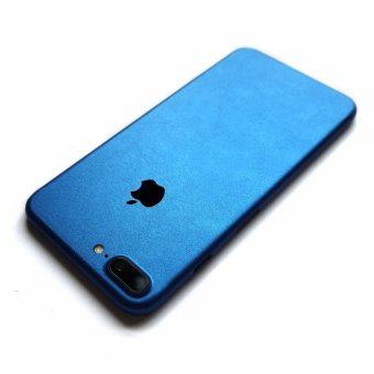 Wrapped Up Full Body Wrap / Skin (not case) for iPhone 7 PlusMetallic Blue