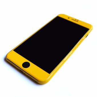 Wrapped Up Full Body Wrap / Skin (not case) for iPhone 7 PlusSpectra Yellow - 5