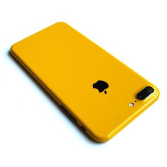 Wrapped Up Full Body Wrap / Skin (not case) for iPhone 7 PlusSpectra Yellow - 2