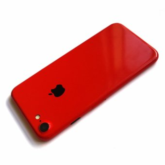 Wrapped Up Full Body Wrap / Skin (not case) for iPhone 7 Ruby Red