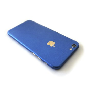 Wrapped Up Premium Full Body Wrap Case for iPhone 6/6s (MetallicBlue)