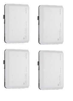 WST DP923 12000mAh Real Capacity Powerbank (White) set of 4