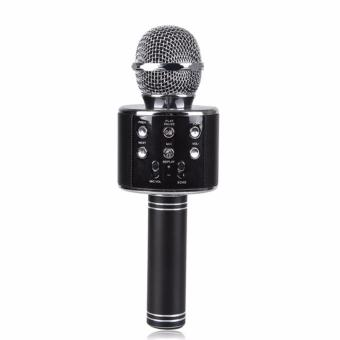 Wster WS-858 Wireless Karaoke Microphone Bluetooth MIC RecordingCondenser Handheld Microphone Speaker Outdoor KTV