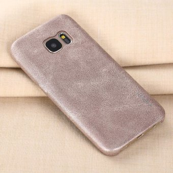X-Level New PU Leather Phone Case For Samsung Galaxy S7 edge Ultrathin Protective Back Cover For Samsung S7 edge - intl