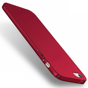 X-Level Rubberized Matte Hard Back Case for Apple iPhone 5 / 5s / SE (Red)