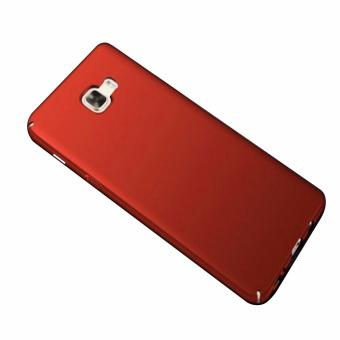 X-Level Rubberized Matte Hard Back Case for Samsung Galaxy J7 Prime(Red)