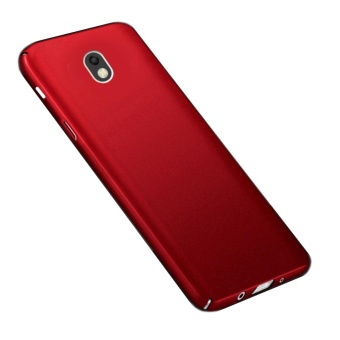 X-Level Rubberized Matte Hard Back Case for Samsung Galaxy J7 Pro(Red)