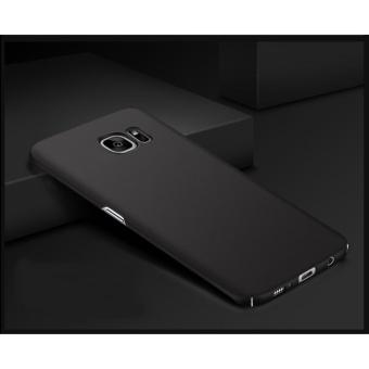 X-Level Rubberized Matte Hard Back Case for Samsung Galaxy S7 Edge(Black) - 2