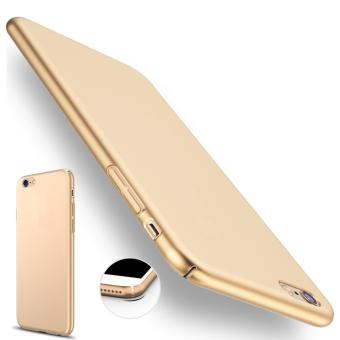 X-Level Slim Matte Rubberized Finish Hard Case For Apple iPhone 6Plus (Gold)