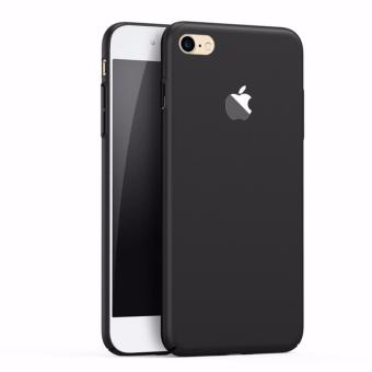 X-Level Slim Matte Rubberized Finish Hard Case For Apple iPhone 6s (Black)