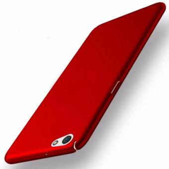 X-Level Slim Matte Rubberized Finish Hard Case For Oppo F3 (Red)