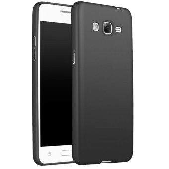 X-Level Slim Matte Rubberized Finish Hard Case For Samsung GalaxyJ2 Prime (Black)