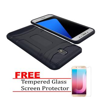 X-level TPU Guardian for Samsung Galaxy J7 Pro with FREE TemperedGlass Screen Protector (Navy Blue) Price Philippines