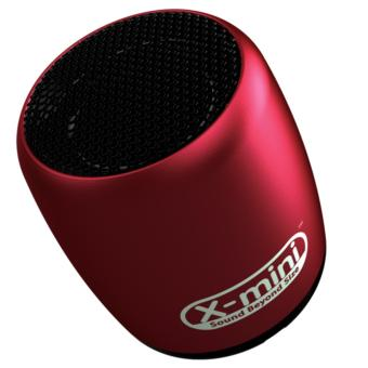 X-mini CLICK Ultra Portable Wireless Speaker (RED)