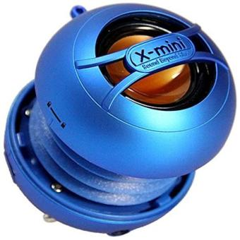X-Mini Uno Xam14-Bl Portable Capsule Speaker- Mono- Blue