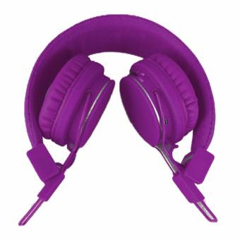 X1 Foldable Wireless Bluetooth Headphones Hi-fi (Purple)