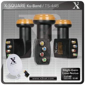 "X2- Full Hd Ku Quad Universal Lnb ""0.1 Db"" (Best Performance WithHigh Gain & Low Noise) Price Philippines"