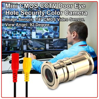 XCSOURCE 92° Mini CMOS Surveillance Security Camera PAL AH077