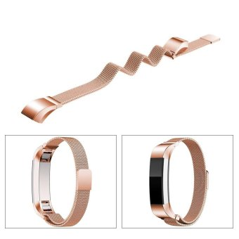 XCSOURCE Metal Magnetic Milanese Stainless Watch Band Strap forFitBit Alta HR Tracker - intl