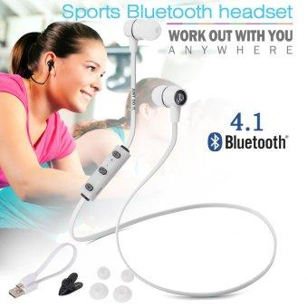 XCSOURCE Wireless Bluetooth 4.1 Sport Earphone (White)