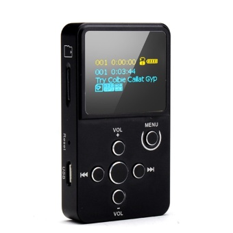 Xduoo (R) Entry-level Portable HIFI audio Player, Support APE FLAC WAV WMA MP3 format - Intl Price Philippines