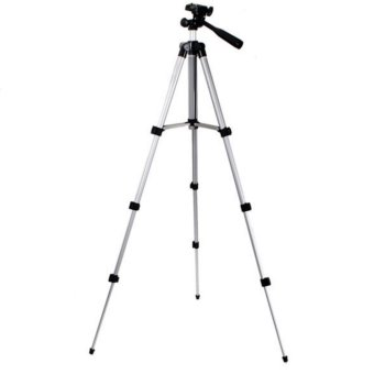 xiaocai-3110 Universal Tripod Stand for Projector and Camcorder(Silver) - 2