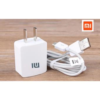 Xiaomi-1A Fast Charger For Smart Phone Whit Usb (White)