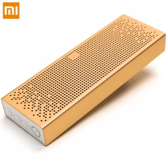 Xiaomi Mi Bluetooth 4.0 Multimedia Music Box Speaker (Gold)