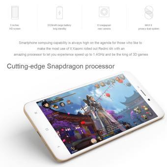 Xiaomi Redmi 4A 2GB RAM 16GB ROM Quad Core 1.4GHz (Dark Gray) - 4