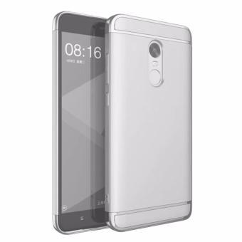 Xiaomi Redmi Note 4x 3 In 1 Fashion Ultra Thin Matte Hard Case (Silver)