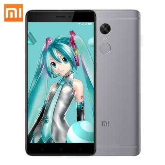 Xiaomi Redmi Note 4X 5.5 inch Mobile Phone 3GB RAM 32GB ROM Octa Core (Grey) - intl