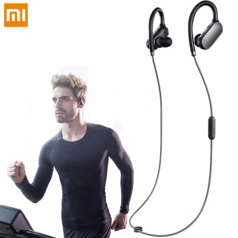 Xiaomi Sport In-ear Earhooks Wireless Bluetooth Headset Earphone With Mic (Black)