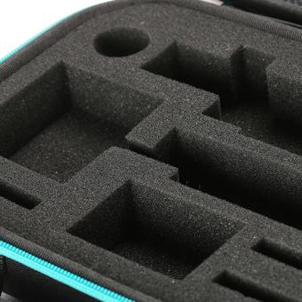 Xiaomi Yi Action Camera High Quality Shock-proof Storage Bag(Black/Cyan) - 4