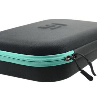 Xiaomi Yi Action Camera High Quality Shock-proof Storage Bag(Black/Cyan) - 3